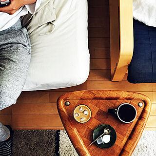 無印良品/ヴィンテージ サイドテーブル/コーヒーのある暮らし/リビングのインテリア実例 - 2019-05-19 11:30:06