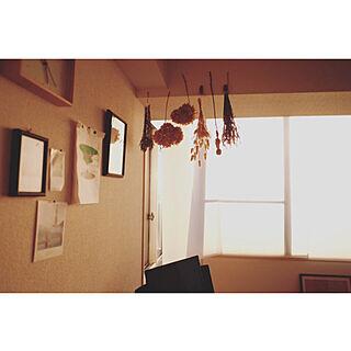 1DK、Lounge ドライフラワーに関するsasakiさんの実例写真