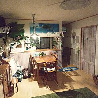 女性家族暮らし4LDK、ビーチハウスにしたいに関するsachikoroさんの実例写真