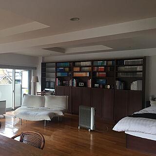 女性48歳の家族暮らし1LDK、IKEAのソファーに関するFumieさんの実例写真