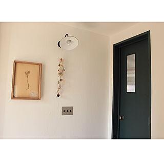 女性31歳の家族暮らし2LDK、植物標本に関するmoco2_homeさんの実例写真