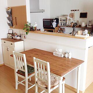 部屋全体/unicoのラグ/mamの家具/DIY/セリア...などのインテリア実例 - 2015-05-18 11:36:32