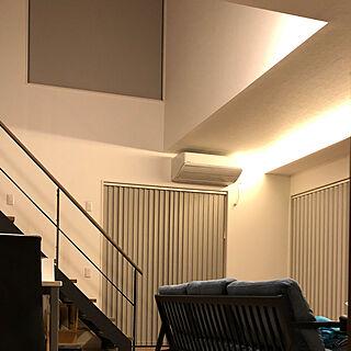 タチカワブラインド/ラインドレープアンサンブル/ラインドレープ/電動ロールスクリーン/リビングのインテリア実例 - 2020-01-30 21:40:22