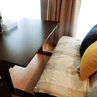 女性一人暮らし1LDK、黄色に関するmimiさんの実例写真