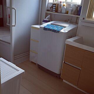 、洗濯物入れに関するさんの実例写真