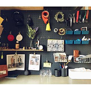 机/スコープさんのティッシュが溜まってく。/リサラーソン/P.F.S/IKEA HAY...などのインテリア実例 - 2018-03-18 14:59:24