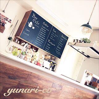 女性家族暮らし3LDK、ベニヤ板に関するyunari-coさんの実例写真