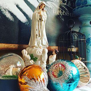 女性同棲3DK、祈りに関するnekohigeさんの実例写真