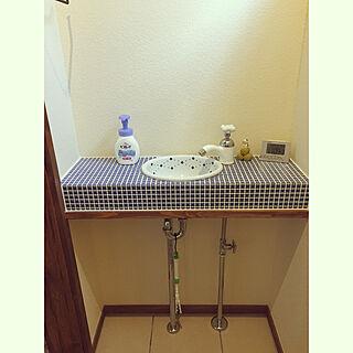 女性家族暮らし3LDK、1階手洗いに関するfoxforestさんの実例写真