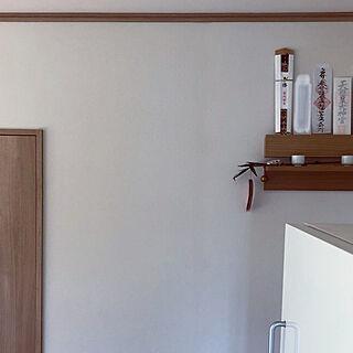 神棚/無印良品 壁に付けられる家具/無印冷蔵庫/無印良品/棚...などのインテリア実例 - 2019-11-21 13:46:54