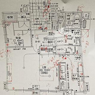 部屋全体/間取り図/北側玄関/北側道路/西側道路...などのインテリア実例 - 2020-02-24 14:46:32
