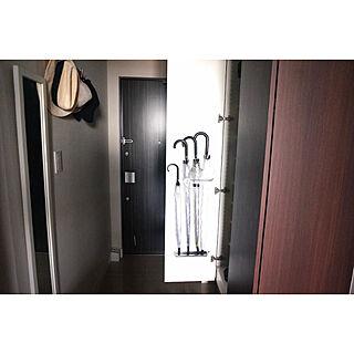女性33歳の家族暮らし3DK、玄関扉に関するbunさんの実例写真