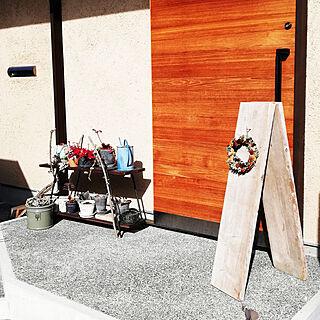 女性家族暮らし、Entrance 多肉植物に関するtakkiさんの実例写真