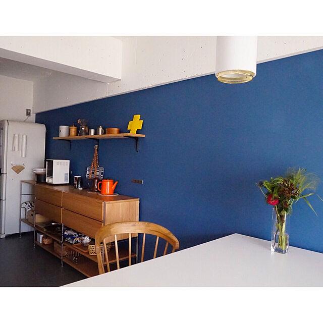 Kitchen,無印良品,北欧インテリア,artek,リノベーション,中古マンションのインテリア実例   RoomClip (ルームクリップ)