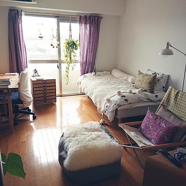 Overview,一人暮らし,1K,模様替え中,緑のある生活のインテリア実例 | RoomClip (ルームクリップ)