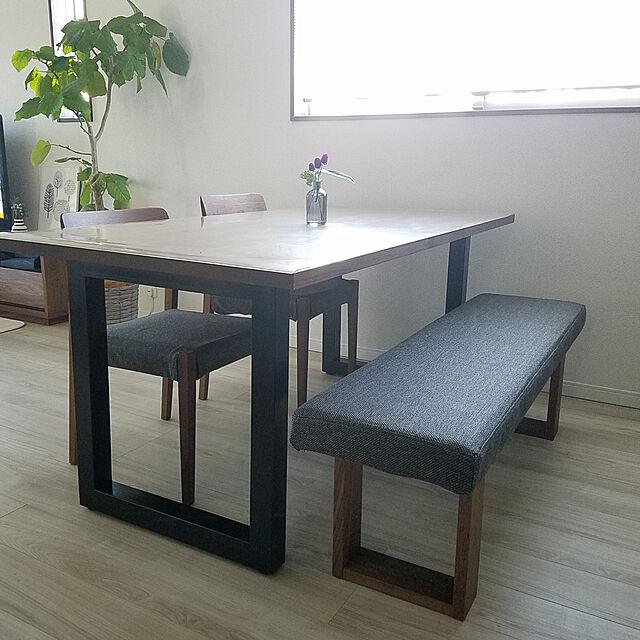 My Desk/マスターウォール/チルウィッチ/千日紅/物を置かない...などのインテリア実例