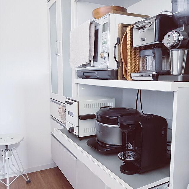 Kitchen/おうちカフェ/コーヒーメーカー/DRIP POD/子供と暮らす。...などのインテリア実例