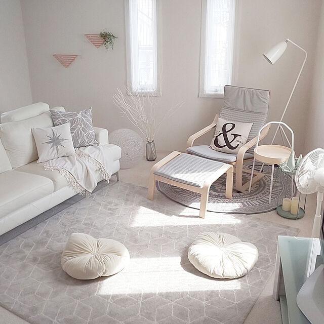 Lounge/すっきり暮らす/北欧モダン/心地よい暮らし/IKEA...などのインテリア実例