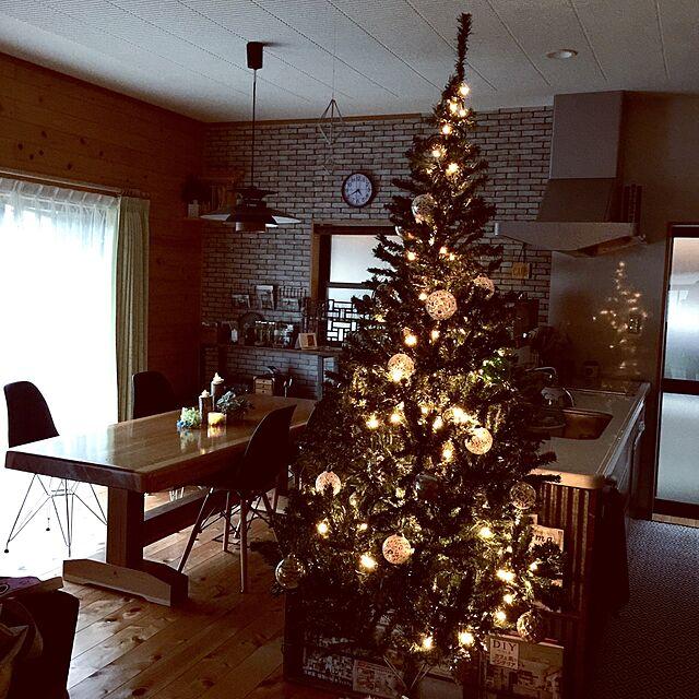Overview,オーナメント,アンティーク,クリスマス,イルミネーション,木の家,男前,アイアンフェンス,日本家屋,ダイニングテーブル ,昭和ポンコツチームのインテリア実例 | RoomClip (ルームクリップ)