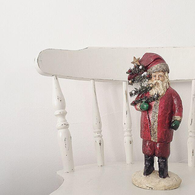 Lounge,クリスマス,使い回し,スッキリ,シュール部,シンプル ,去年と同じのインテリア実例 | RoomClip (ルームクリップ)