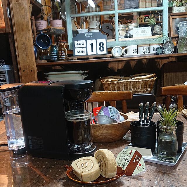 Lounge/おうちカフェ/コーヒーメーカー/DRIP POD/ダイソー♡...などのインテリア実例