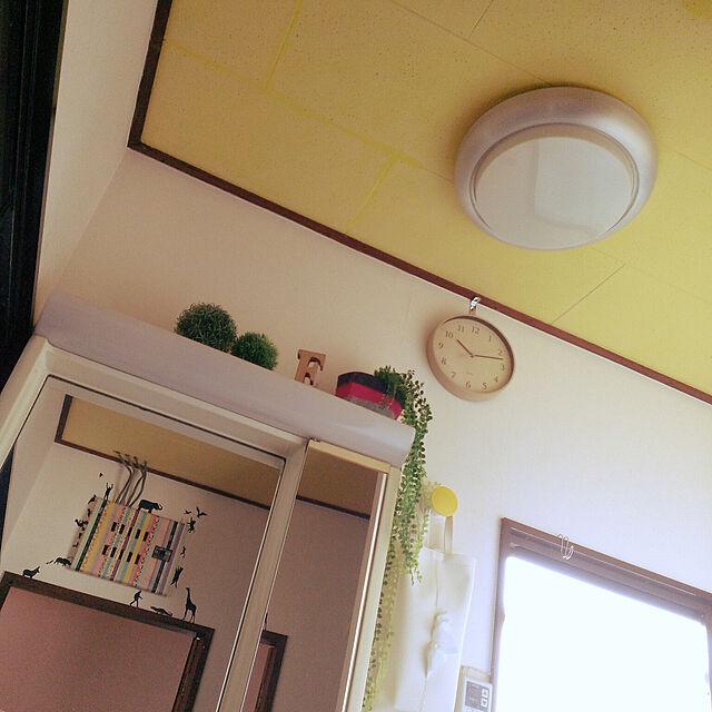 Bathroom/イエロー/昭和の家/壁紙屋本舗/セルフリフォーム...などのインテリア実例