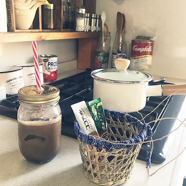 Kitchen,ニトリ,インスタ→chiisoccer_11,いつもいいねありがとう(*☻-☻*)のインテリア実例   RoomClip (ルームクリップ)