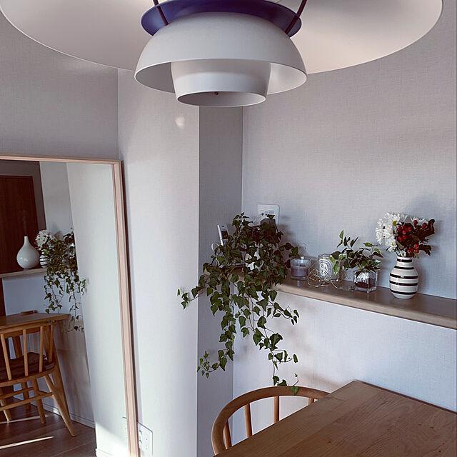 ケイラーオマジオ/シンプルライフ/マンションライフ/お花のある暮らし/観葉植物...などのインテリア実例
