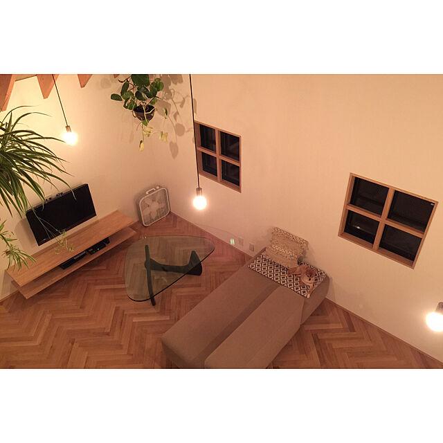 Lounge/北欧/注文住宅/ヘリンボーン/ラワン...などのインテリア実例