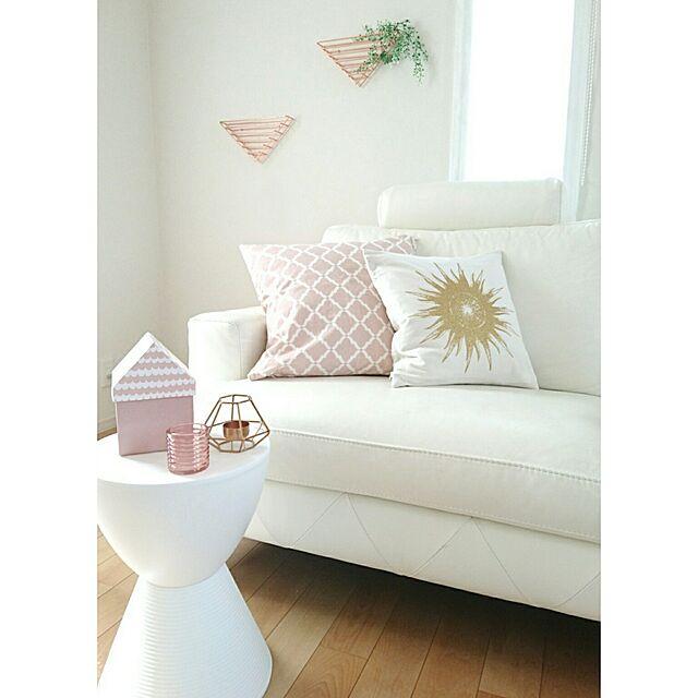 Lounge/ピンクインテリア/ソストレーネグレーネ/暮らしを楽しむ/すっきり暮らす...などのインテリア実例