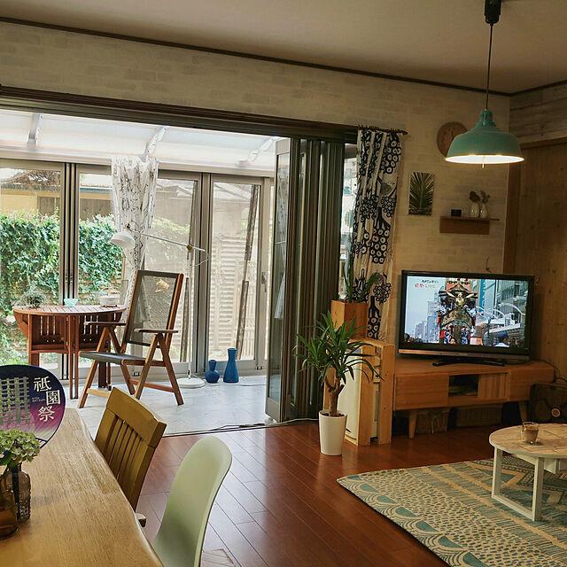 Lounge/ガーデンテーブル/サンルーム/テレビボード/祇園祭...などのインテリア実例