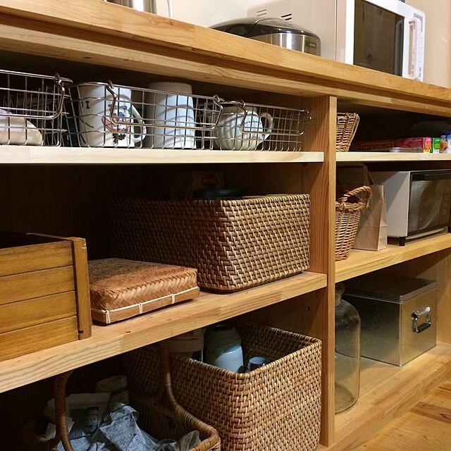 Kitchen,無印良品,DIYのインテリア実例   RoomClip (ルームクリップ)