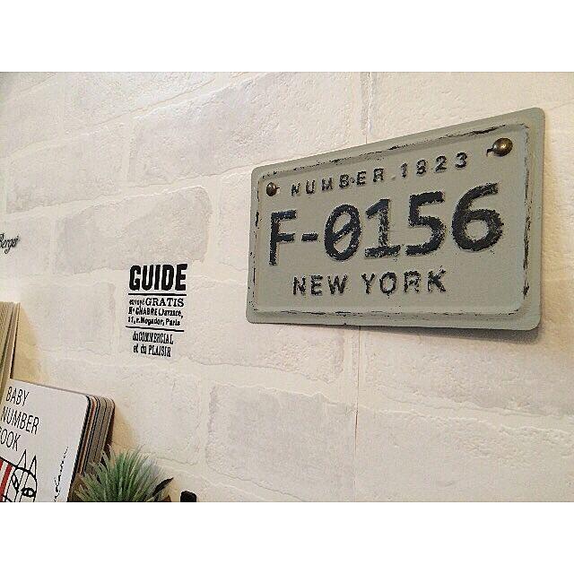 壁/天井/ナチュラル/100均/セリア/おうちカフェ...などのインテリア実例 - 2016-03-16 16:03:09