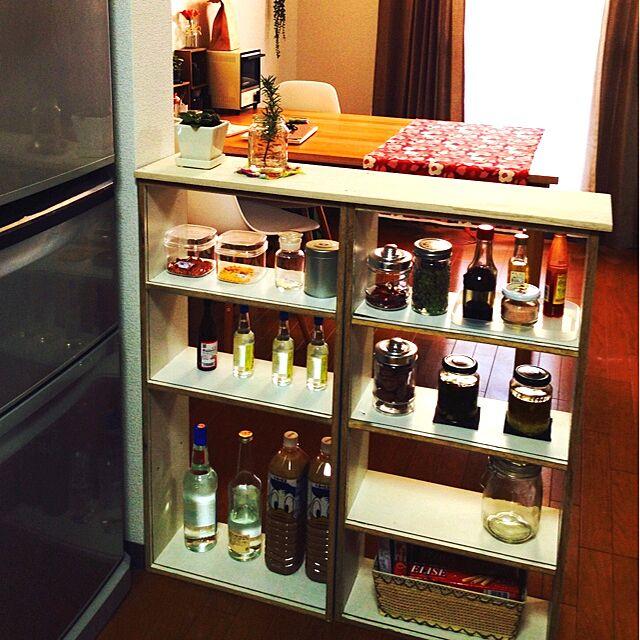 キッチン/DIY/手作り/観葉植物/ハンドメイド...などのインテリア実例 - 2014-02-23 16:49:24