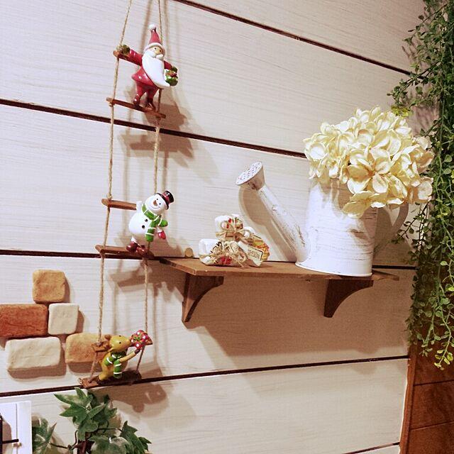 壁/天井/Christmas**/紙粘土のgiftbox/手作り/セリア...などのインテリア実例 - 2014-10-17 21:41:49
