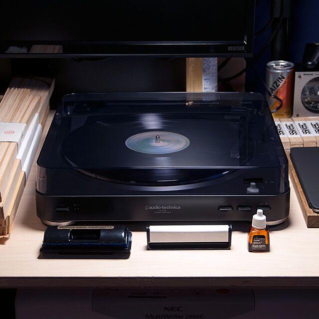 My Desk,レコード,レコードプレーヤーのインテリア実例 | RoomClip (ルームクリップ)