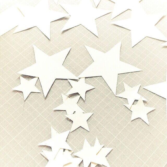 ベッド周り/工作/おなかすいた/星/星モチーフ...などのインテリア実例 - 2014-02-21 14:32:21