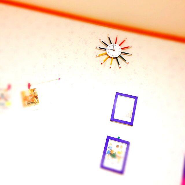 壁/天井/雑貨/タイガーコペンハーゲン/セリア/青色...などのインテリア実例 - 2014-01-14 21:04:31