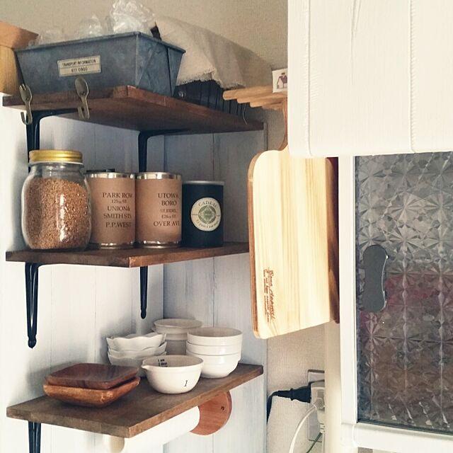 キッチン/DIY/セリア/ダイソー/3COINSのインテリア実例 - 2014-10-26 08:07:00