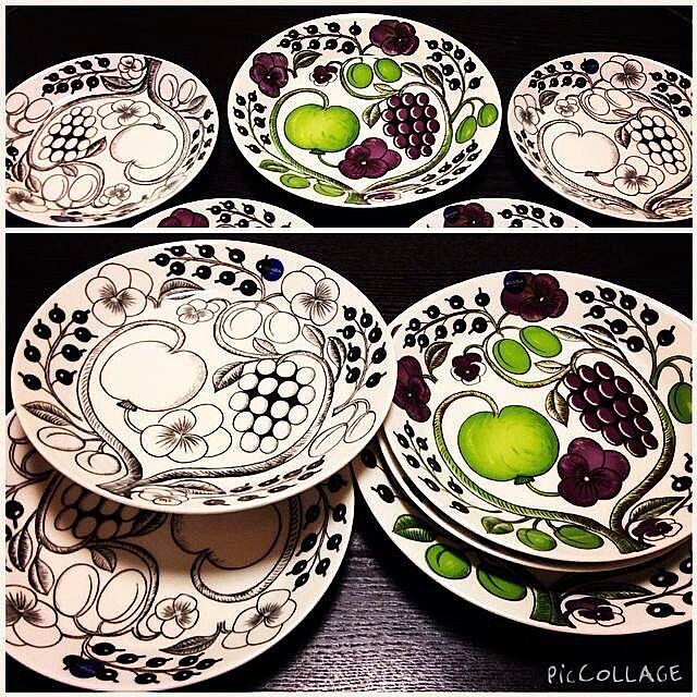 Kitchen/アラビアパラティシ/北欧/食器/アラビア...などのインテリア実例