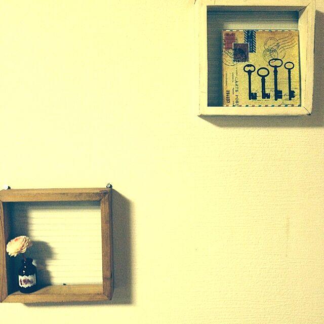 壁/天井/salut !/セリア/salut!のインテリア実例 - 2014-01-11 00:03:35