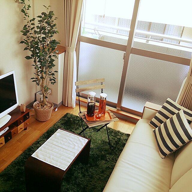ニトリと賃貸マンションと北欧インテリアの部屋づくりのインテリア実例