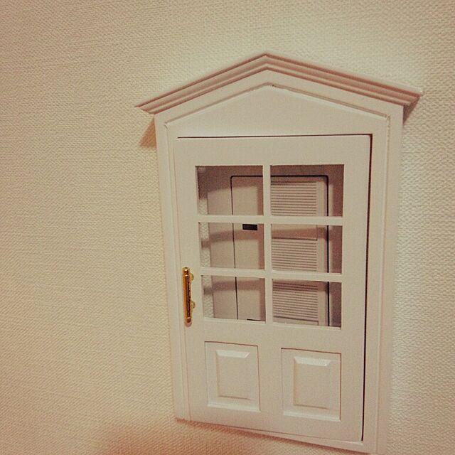 壁/天井/ホワイト/窓格子/雑貨のインテリア実例 - 2014-03-17 21:59:24