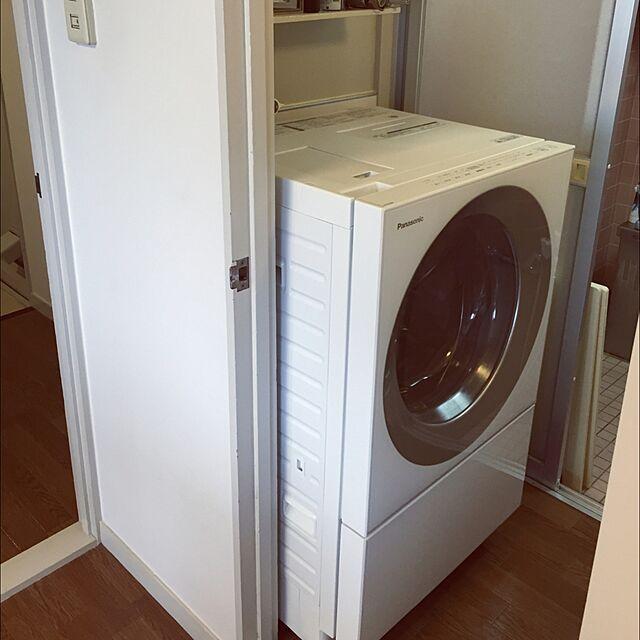 Panasonic (パナソニック)と洗濯機とCubleのインテリア実例
