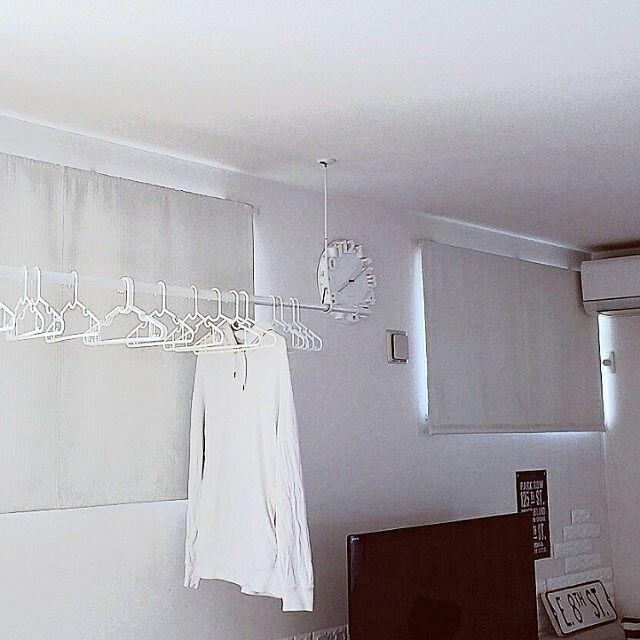 部屋全体/部屋干し/洗濯/室内干し/除菌...などのインテリア実例 - 2021-06-19 15:10:46