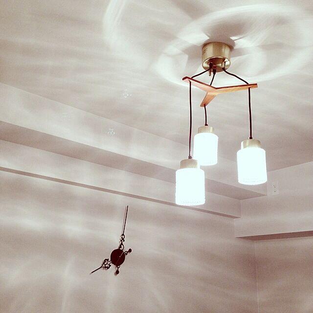 壁/天井/フランフラン/ダイニングの照明/照明/時計のインテリア実例 - 2014-02-27 20:28:54