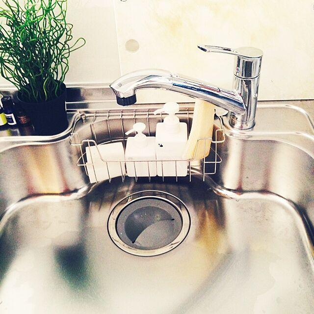 キッチン/狭い台所/無印良品/IKEAのインテリア実例 - 2014-10-02 23:01:55
