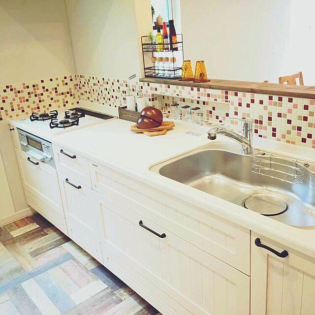 Kitchen,タイル,タカラスタンダード,名古屋モザイクタイルのインテリア実例 | RoomClip (ルームクリップ)
