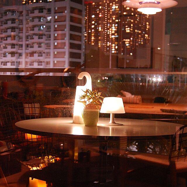 My Desk,ベランダ,ミッドセンチュリー,eva solo,無印LEDライト,イームズコーヒーテーブルのインテリア実例 | RoomClip (ルームクリップ)