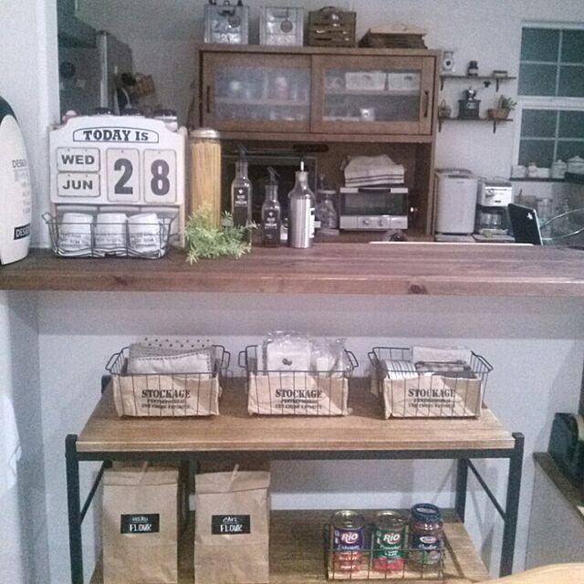 My Shelf,ハンドメイド,セリア,salut!,いなざうるすやさんのフェイクグリーンのインテリア実例 | RoomClip (ルームクリップ)